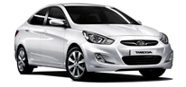 Hyundai Accent Blue Diesel / Automatic Gear